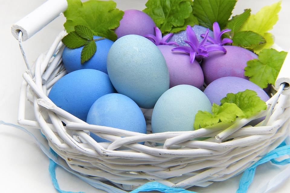 Ostern auf Englisch, Französisch, Italienisch