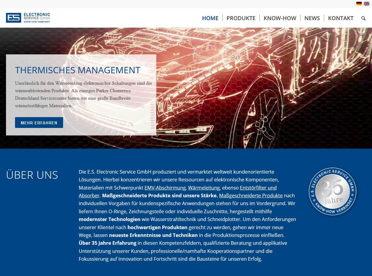 Homepagetext Elektronikvertrieb